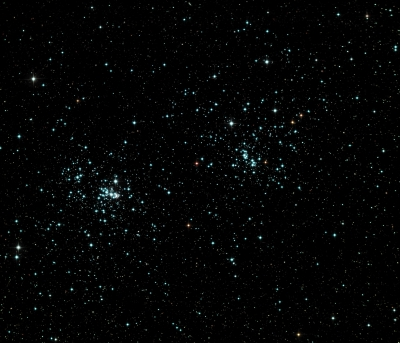 Double open cluster in Perseus_1